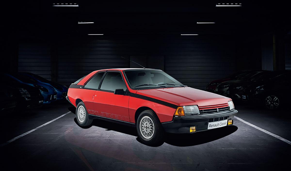 ルノー・フエゴ(1980年)。欧州で2年連続クーペ販売台数1位を記録した。