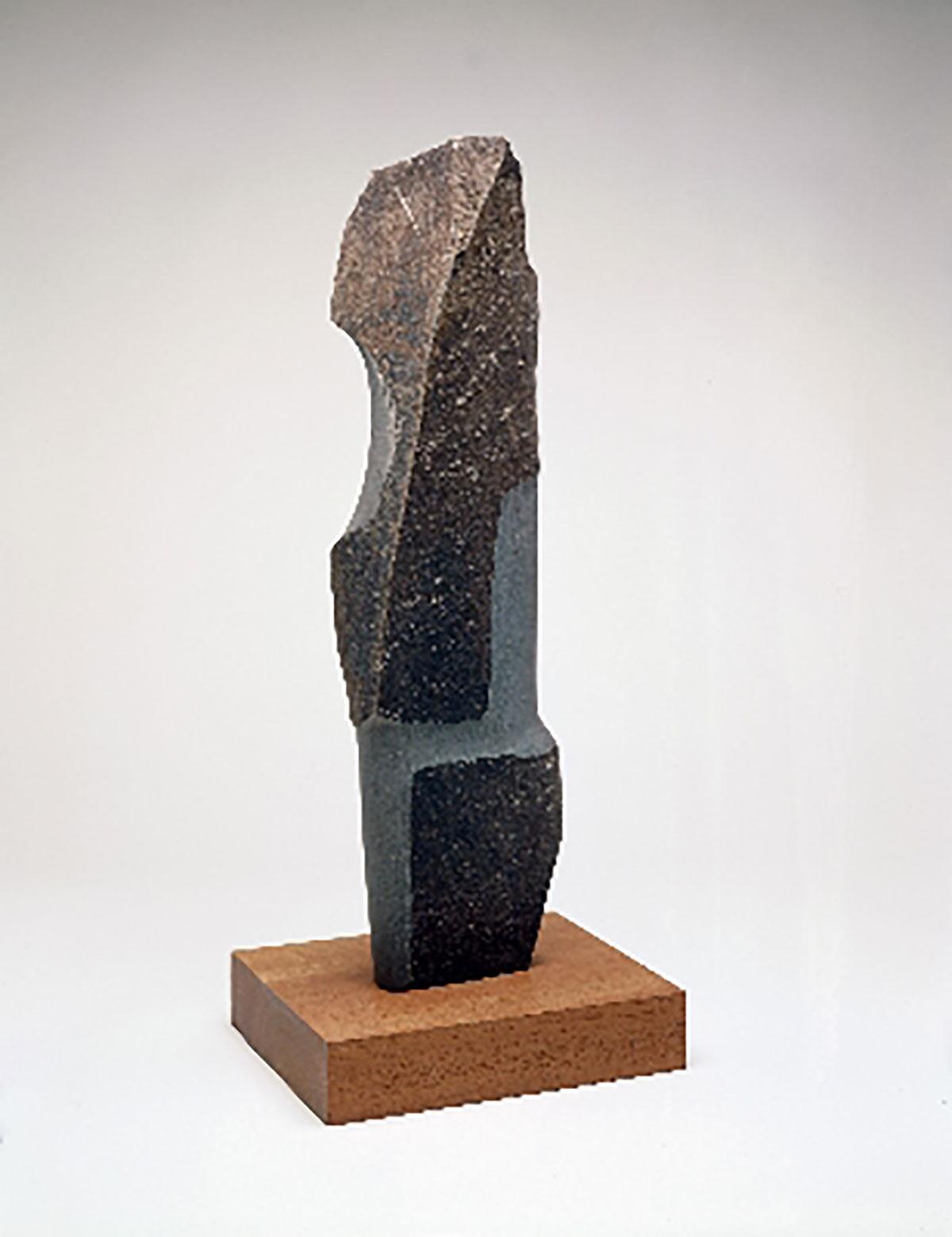 石に最小限の手が加えられただけの、後期のイサムの特徴がよく表れた作品。今回の展覧会のタイトル名にもなっている。イサム・ノグチ《発見の道》1983-84年 鹿児島県霧島アートの森蔵Photo:Kevin Noble(C)2021 The Isamu Noguchi Foundation andGardenMuseum/ARS, NY/JASPAR,Tokyo E3713