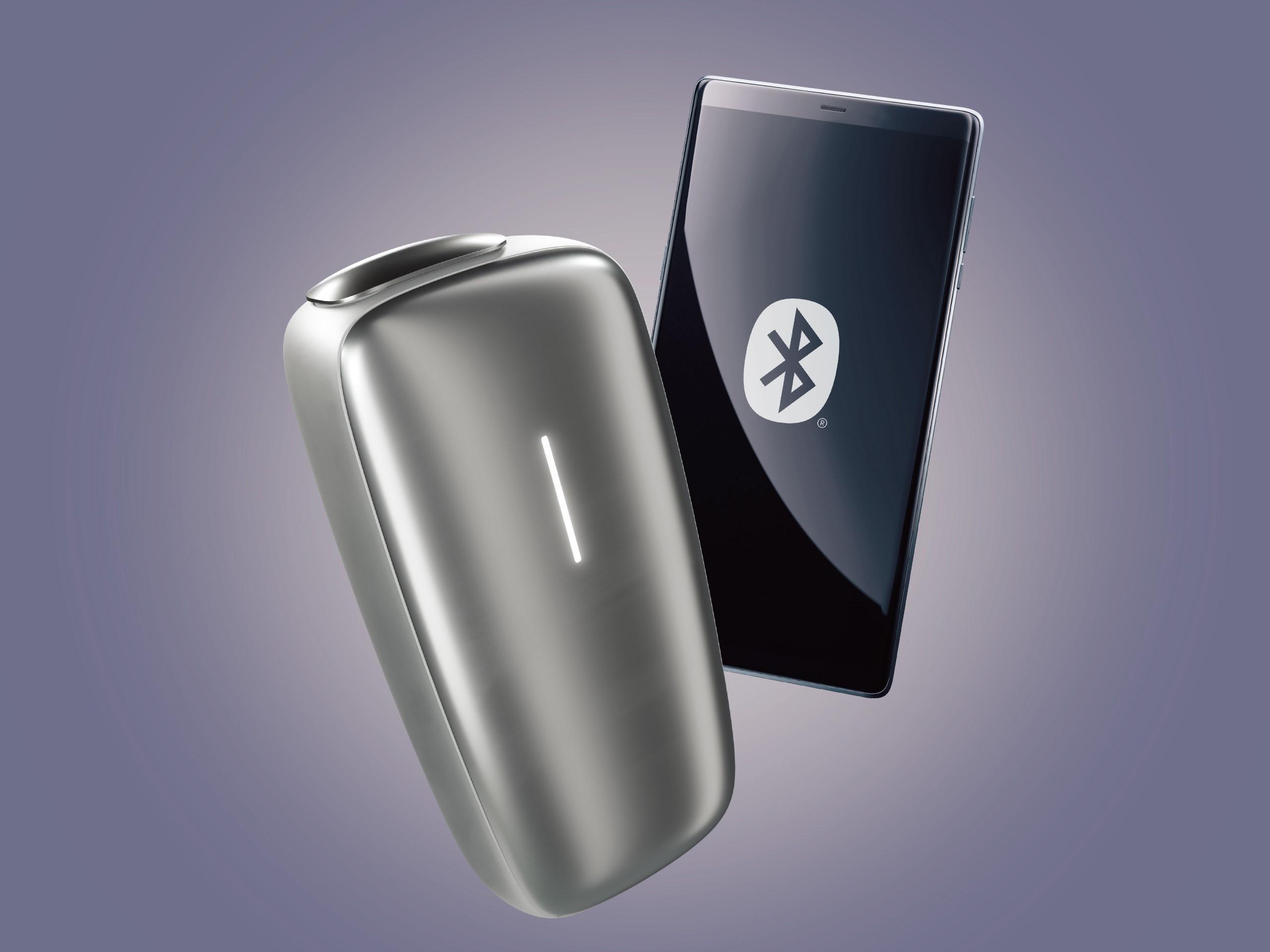 Bluetoothでスマートフォンと接続すれば、様々な便利な機能が使える。